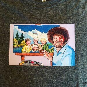 Tops - Bob Ross and Golden Girls t-shirt